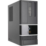 In Win BK623 Computer Case - Small - Black - Steel - 3 x Bay - 1 x 300 W - Power Supply Installed - Micro ATX Motherb (BK623.BH300TB3)