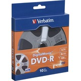 Verbatim Digital Movie DVD-R 10pk Bulk Box