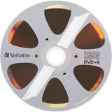 Verbatim DVD+R 4.7GB 8X with DigitalMovie Surface - 10pk Bulk Box - 120mm - 2 Hour Maximum Recording Time