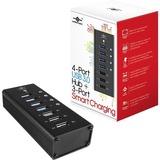 Vantec 4 Port USB 3.0 Aluminum Smart Charging Hub