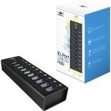 Vantec 10 Port USB 3.0 Aluminum Hub