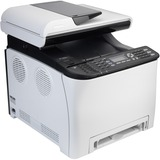 Ricoh SP C252SF Laser Multifunction Printer - Color - Plain Paper Print - Desktop - Copier/Fax/Printer/Scanner - 21 p (U2S91E)