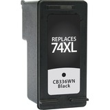 V7 Ink Cartridge - Replacement for HP (CB336WN) - Black