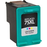 V7 Ink Cartridge - Replacement for HP (CB338WN) - Tri-color