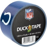 """Duck NFL Licensed Duck Tape - Indianapolis Colts - 1.88"""" Width x 30 ft Length - Easy Tear - 6 / Case"""