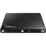 Lite-On EBAU108 DVD-Writer - Black - DVD-RAM/±R/±RW Support - 24x CD Read/24x CD Write/24x CD Rewrite - 8x (EBAU108)