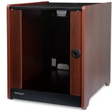 StarTech.com 12U Rack Enclosure Server Cabinet - 20.6 in. Deep - Wood Finish - Flat Pack - 20.50IN 12U Wide x 20.60IN (RKWOODCAB12)