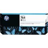 HP 764 Original Ink Cartridge Single Pack - Gray - 1 Each (C1Q18A)