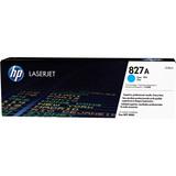 HP 827A Original Toner Cartridge - Cyan - Laser - 38500 Pages - 1 Pack (CF301AC)
