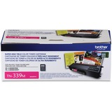 Brother Genuine TN339M Super High Yield Magenta Toner Cartridge - Laser - Super High Yield - 6000 Pages - Magenta - 1 (TN339M)