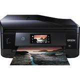 Epson Expression XP-860 Inkjet Multifunction Printer - Color - Photo Print - Desktop - Copier/Fax/Printer/Scanner - 1 (C11CD95201)