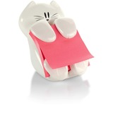 "Post-it® Pop-up Notes Dispenser, 3""x 3"" Notes, Cat Dispenser"