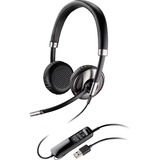 Plantronics Blackwire C720-M Headset - Stereo - USB - Wired/Wireless - Bluetooth - Over-the-head - Binaural - Supra-a (87506-11)