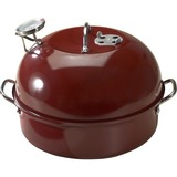 "Nordic Ware 365 Kettle Smoker - 6.88"" Length 13"" Width Smoker, Lid, Smoking Rack, Water Pan - Aluminized Steel - Oven Safe"