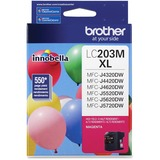 Brother Innobella LC203M Ink Cartridge - Magenta - Inkjet - High Yield - 550 Page - 1 Each