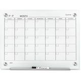 Quartet Infinity™ Glass Magnetic Calendar Board