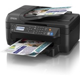 Epson WorkForce 2650 Inkjet Multifunction Printer - Color - Plain Paper Print - Desktop - Copier/Fax/Printer/Scanner (C11CD77201)
