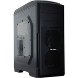 Antec GX500 Window Computer Case - Mid-tower - Black - 8 x Bay - 3 x 4.72IN x Fan(s) Installed - 0 - ATX, Micro ATX, (GX500WINDOW)