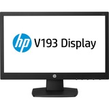 "HP Business V193 18.5"" LED LCD Monitor - 16:9 - 5 ms - 1366 x 768 - 200 Nit - 5,000,000:1 - WXGA - VGA - 17 W - Black - China Energy Label (CEL), CECP, EPEAT Silver, T??V, ENERGY STAR"