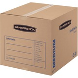 Bankers Box SmoothMove Basic Moving Boxes, Medium, 10pk