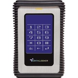 DataLocker DL3 2 TB Encrypted External Hard Drive - USB 3.0 External HDD with AES XTS Mode Hardware Data Encryption 2 (DL2000V3)