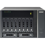 QNAP REXP-1000 Pro Drive Enclosure External - 10 x HDD Supported - 10 x SSD Supported - Serial ATA/600, 6Gb/s SAS Con (REXP-1000-PRO)