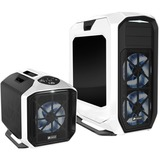 Corsair Graphite 780T Computer Case - Full-tower - White, Black - Steel, Polycarbonate, Acrylonitrile Butadiene Styre (CC-9011059-WW)