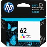 HP 62 Original Ink Cartridge - Single Pack - Inkjet - 165 Pages - Cyan, Magenta, Yellow - 1 Each (C2P06AN#140)
