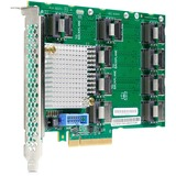 HPE 12Gb SAS Expander Card with Cables for DL380 Gen9 - 12Gb/s SAS - Plug-in Card - 9 Total SAS Port(s) (727250-B21)