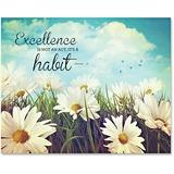 Advantus Excellence Motivational Canvas Print
