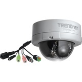 TRENDnet TV-IP342PI 2 Megapixel Network Camera - Color - 1920 x 1080 - 3x Optical - Cable - Ethernet - Dome (TV-IP342PI)