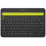 Logitech Bluetooth Multi-Device Keyboard K480 - Wireless Connectivity - Bluetooth - English, French - Compatible with (920-006342)