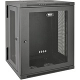 Tripp Lite 15U Wall Mount Rack Enclosure Server Cabinet Hinged Wallmount - 19IN 15U Wide x 20.50IN Deep Wall Mountabl (SRW15US)