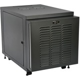 Tripp Lite 12U Industrial Rack Floor Enclosure Server Cabinet Doors & Sides - 19IN 12U Wide x 32.50IN Deep Floor Stan (SR12UBFFD)