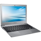 "Samsung Chromebook 2 XE500C12-K01US 11.6"" LED Chromebook - Intel Celeron N2840 Dual-core (2 Core) 2.16 GHz - Metallic Silver - 2 GB DDR3L SDRAM RAM - Intel HD Graphics - Chrome OS - 1366 x 768 16:9 Display - Bluetooth - Wireless LAN - Webcam - HDMI -"