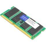 AddOn Toshiba PA3411U-2M1G Compatible 1GB DDR2-533MHz Unbuffered Dual Rank 1.8V 200-pin CL4 SODIMM - 100% compatible (PA3411U-2M1G-AAK)