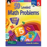 Shell Education Level 5 Math Problems Book Education Printed/Electronic Book for Mathematics by Anne M. Collins