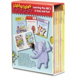 Scholastic Res. Pre-K AlphaTales Book Set Education Printed Book