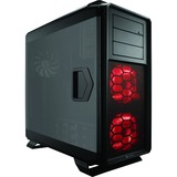 Corsair Graphite 760T Computer Case - Full-tower - Black - Steel, Plastic - 9 x Bay - 3 x 5.51IN x Fan(s) Installed - (CC-9011073-WW)