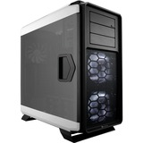 Corsair Graphite 760T Computer Case - Full-tower - Black, White - 3 x 5.51IN x Fan(s) Installed - 24.69 lb - 7 x Fan( (CC-9011074-WW)