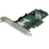 StarTech.com 2 Port PCI Express 2.0 SATA III 6Gbps RAID Controller Card w/ 2 mSATA Slots and HyperDuo SSD Tiering - S (PEXMSATA3422)