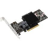 Asus PIKE II 3008-8i SAS RAID Card - 12Gb/s SAS - PCI Express 3.0 - Plug-in Card - RAID Supported - 0, 1, 10, 1E RAID (PIKE II 3008-8I)