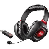 Sound Blaster Tactic3D Rage Headset - Stereo - Black, Red - USB - Wireless - RF - 32 Ohm - 20 Hz - 20 kHz - Over-the- (70GH022000003)