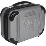 "Bulldog 9"" X 12"" X 5 Grey Molded Double Pistol Case with TSA Lock - External Dimensions: 11.5"" Width x 8.5"" Depth x 5"" Height - Hinged Closure - Acrylonitrile Butadiene Styrene (ABS) - Gray - Retail - For Pistol"