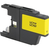 V7 Laser Toner for Select Brother Printers - Replaces LC71Y LC75Y