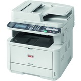 Oki MB472w LED Multifunction Printer - Monochrome - Plain Paper Print - Desktop - Copier/Fax/Printer/Scanner - 35 ppm (62444801)