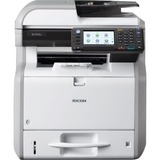 Ricoh Aficio SP 4510SF LED Multifunction Printer - Monochrome - Plain Paper Print - Desktop - Copier/Fax/Printer/Scan (U2T04E)