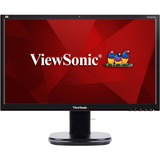 "Viewsonic 24"" (23.6"" Viewable) Full HD Ergonomic LED Monitor with Integrated Webcam"