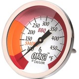 Taylor OMG! Analog Thermometer - Fahrenheit Reading - Heavy Duty, Wall Mountable - For Grill, Smoker, Barbecue