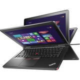 "Lenovo ThinkPad Yoga 12 20DL0036US Ultrabook/Tablet - 12.5"" - In-plane Switching (IPS) Technology - Wireless LAN - Intel Core i3 i3-5005U Dual-core (2 Core) 2 GHz - Graphite Black - 4 GB DDR3L SDRAM RAM - 500 GB HDD - 16 GB SSD - Windows 8.1 Pro 64-b"